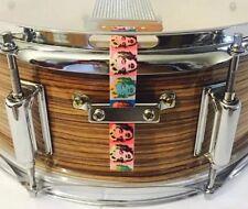 Snare Flair Drum Strap Percussion Fabric Warhol Marilyn Monroe Pop Art USA