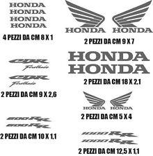 kit adesivi per moto scooter honda cbr 600 1000 rr colori a scelta CORRIERE SDA