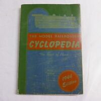Model Railroader Cyclopedia Book of Prototype Plans 5th 1944 Ed Railroad Trains