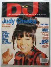 DJ  UK Magazine 18 Nov - 1 Dec 1993 NEW issue 102 JUDY CHEEKS K Klass Snoop Dog