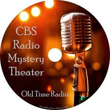 CBS Mystery Theater Old Time Radio Shows OTR 1400+ Episodes on 21 MP3 CDs