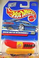 1997 Hot Wheels Collector #204 OSCAR MAYER WIENERMOBILE Red/Tran w/Chrome 5 Sp
