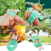 5Pcs/Set Vegetable Fruit Picker Garden Ring Harvesting Cut Tools Equipment