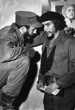 Che Guevara w/ Fidel Castro Poster, Cuba, Revolution