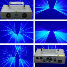 Double Lens 300mW+300mW Blue DJ DMX Laser Lighting disco party laser projector