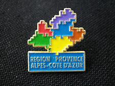Pin's région Provence-Alpes-Côte d'Azur/ PACA)