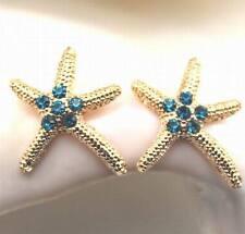 fashion lovely  starfish Stud earrings Christmas gift EA230