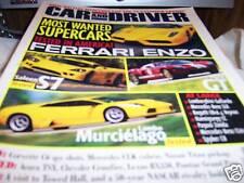 Car and Driver Magazine 7/2003 Ferrari Enzo