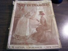 ANTIQUE - SET IN DIAMONDS BY CHARLOTTE M. BRAEME - CHIMNEY CORNER SERIE