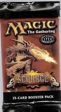 MTG SCOURGE BOOSTER 2 PACK LOT FREE SHIP LOOK FOR STIFLE, SLIVER OVERLORD,