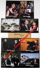 QUANTUM OF SOLACE - Bond - D.Craig - Set of 8 FRENCH LC
