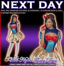 ***SALE*** Fancy Dress Costume # Ladies Disney Princess Snow White Size 8-14