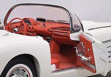 1958 Chevrolet Corvette White 1:18 AUTOart 71145