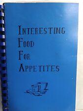 Vintage Recipe Spiral Cookbook IFFA  Independent Fed. Of Flight Attendants 1987