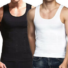 Men's Body Shaper Slimming Vest Abs Abdomen Compression Tank Tops Under Shirt US