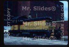 Original Slide Wabash Valley Railroad Company SW1 1802 KC MO 1981