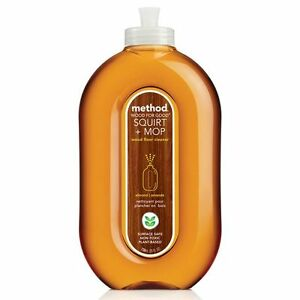 Method Squirt and Mop Good for Wood Laminate & Wood Floor Cleaner Almond 739ml