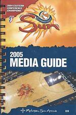 2005 Connecticut Sun WNBA Women's Basketball Media Guide #FWIL