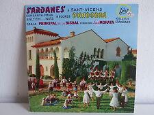 Sardanes a Saint Vicens d ' Andorra Cobla principal de la Bisbal  MORATA 45DSU17