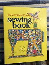 Vintage: The Complete Family Sewing Book: 1972 Hardcover Ring Binder, Illus.