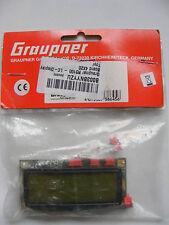 GRAUPNER LC tabellone, 4X20, numero di parte r5100, per RC Robot