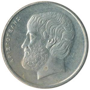 Coin Greece 5 Drachma 1990    #WT9289