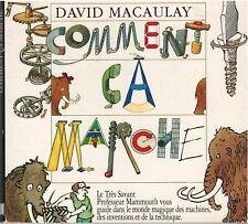 David Macaulay- Comment ça marche  - CD Rom pour Mac