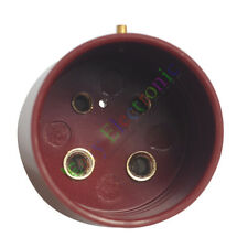 2pc 4pin Red Bakelite vacuum tube sockets valve base For U4A 300B 811 audio amp