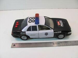 LARGE HASBRO TONKA 2009 POLICE CAR LIGHTS SOUNDS WORKS RARE MODEL FUNRISE #04956