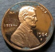 """*ERROR COIN, 1984-S  LINCOLN """"PROOF"""" CENT, DIE ERRORS San Francisco Mint Coin #A"""