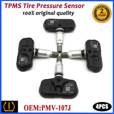 4PCS 42607-33011 PMV-107J Tire Pressure Sensor TPMS For Toyota Scion Lexus RX350