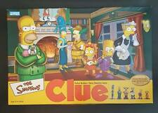 The Simpsons CLUE 2nd Edition Board game