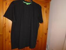 Black short sleeve round neck t-shirt, style Flyers 1, D555, size Medium, NEW