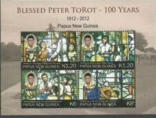 Papua New Guinea 2012 - Peter Torot Sheet of 4 Stamps MNH