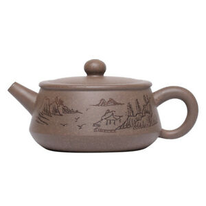HanWa tea pot marked real yixing zisha qinghui clay pot big opening for Puer tea