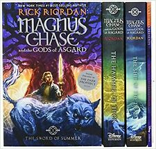 Magnus Chase and the Gods of Asgard Set Paperback Book