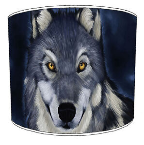 Wolves Designs Lampshades Ideal To Match Night Wolf Bedding Sets & Duvets Covers