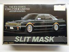 "Aoshima 1/24 Scale Nissan Cedric Cima Type 2 Ltd ""Slit Mask"" Model Kit - New"