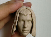 【No Paint】1/6 Milla Jovovich Leeloo Head Sculpt Fifth Element F12''Female Figure