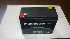 AGM Gel Akku 6Volt Batterie 6V 7Ah 8Ah 9Ah 10Ah Wartungsfrei
