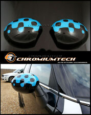Mini R55 R56 R57 R58 R59 R60 R61 acceso blu calotte specchietti per
