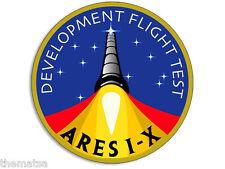 "4""  ARES 1-X FLIGHT TEST NASA HELMET BUMPER EMBLEM DECAL STICKER MADE IN USA"
