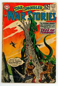 JERRY WEIST ESTATE: STAR SPANGLED WAR STORIES #101 & 104 (VG) (DC 1962)