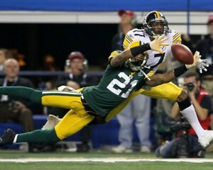 CHARLES WOODSON 8X10 PHOTO GREEN BAY PACKERS PICTURE NFL FOOTBALL VS STEELERS