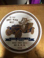 ANTIQUE AUTOMOBILE CLUB OF AMERICA The First Jones Beach Meet 1968 Ceramic Tile