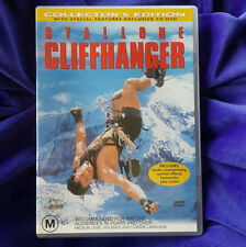 CLIFFHANGER - RARE DVD- Collectors Edition - COLLECTIBLE DVD STALLONE Region 4