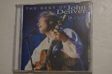 The Best of John Denver Live by John Denver (CD,