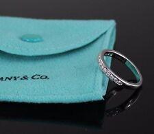 $3,575 Tiffany Platinum 3mm Diamond Channel Set Wedding Band Anniversary Ring 5