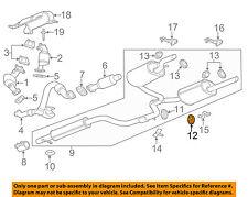GM OEM Exhaust-Muffler W/tpipe Insulator 10304424