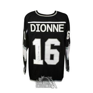 Marcel Dionne Team Canada Autographed Los Angeles Kings Custom Hockey Jersey JSA